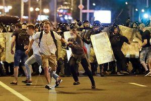 Biểu tình tại Belarus phản đối kết quả bầu cử tổng thống