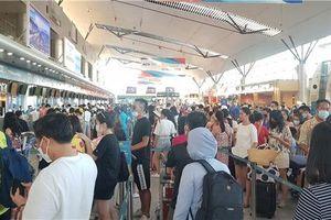 7 chuyến bay đưa du khách 'mắc kẹt' ở Đà Nẵng về các địa phương