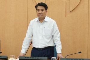 Đình chỉ sinh hoạt Đảng đối với ông Nguyễn Đức Chung