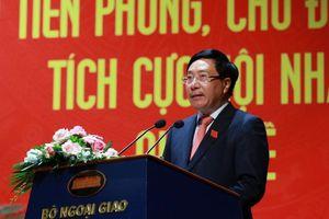 Phó Thủ tướng Phạm Bình Minh: Ngành Ngoại giao cần kiên định về nguyên tắc, linh hoạt về sách lược