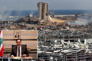 Toàn bộ chính phủ Li-băng từ chức sau vụ nổ kinh hoàng