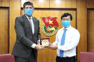 T.Ư Đoàn và UNESCO tại Việt Nam thúc đẩy quan hệ hợp tác