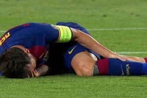 Barca toát mồ hôi vì chấn thương của Messi trước đại chiến Bayern