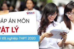 Đáp án tham khảo môn Vật lý thi tốt nghiệp THPT 2020, mã đề 216