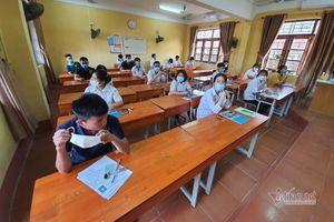 123 thí sinh thi lại tốt nghiệp THPT do sai sót của giám thị