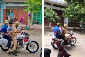 Nam sinh ngủ quên được CSGT chở đi thi là tác giả 'cây ATM gạo học đường' của Lào Cai