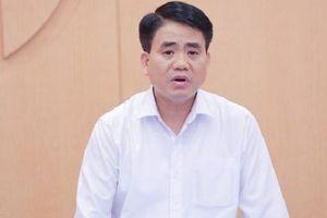 Tạm đình chỉ công tác Chủ tịch UBND TP.Hà Nội Nguyễn Đức Chung