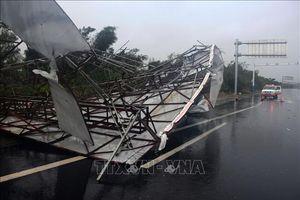 Bão Mekkhala đổ bộ tỉnh Phúc Kiến, giao thông nhiều nơi bị tê liệt