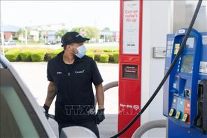 Giá dầu giá dầu Brent tăng nhẹ lên 45,28 USD/thùng