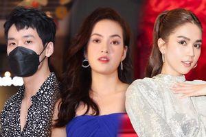 Họp báo web-drama 'Hạnh phúc trong tầm tay': Tuấn Trần điển trai, Hoa hậu Diễm Trần bác bỏ tin đồn thân thiết với Ngọc Trinh