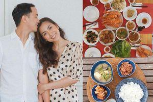 Những bữa cơm nhà dân dã, ngon mắt của Tăng Thanh Hà