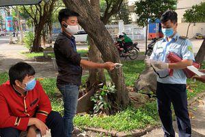 TP.HCM: Thu hơn 160 triệu đồng sau 5 ngày kiểm tra, xử phạt người không đeo khẩu trang