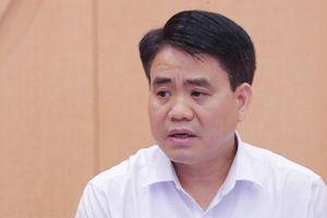 Thủ tướng tạm đình chỉ công tác Chủ tịch Hà Nội Nguyễn Đức Chung