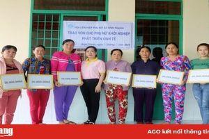 Phụ nữ Châu Thành hỗ trợ nhau vươn lên trong cuộc sống