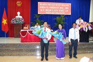 HĐND huyện Thoại Sơn khóa XI (nhiệm kỳ 2016 – 2021) tiến hành kỳ họp lần thứ 13