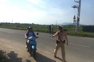 Bùng nổ nỗi lo tai nạn giao thông từ vi phạm mũ bảo hiểm ở ngoại thành