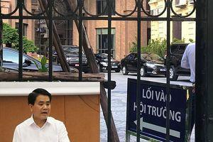 Đình chỉ công tác Chủ tịch TP Hà Nội Nguyễn Đức Chung