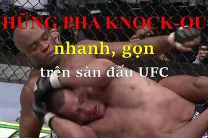 Những đòn knock out hủy diệt trên sàn đấu UFC