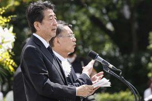 Hai bài phát biểu giống nhau 93% của ông Abe khiến dân Nhật nổi giận