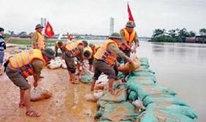 Thanh Trì đẩy mạnh công tác phòng, chống thiên tai và tìm kiếm cứu nạn