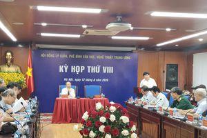Kỳ họp thứ VIII Hội đồng Lý luận, phê bình văn học, nghệ thuật TƯ