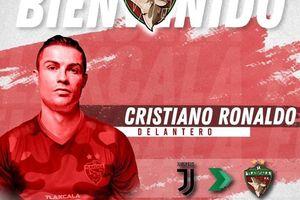 Siêu sao Ronaldo 'khoác áo' đội bóng hạng Ba của Mexico