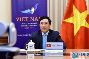 Việt Nam cam kết và kêu gọi các nước tăng cường hợp tác, đoàn kết quốc tế chống dịch Covid-19
