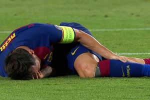 Đấu Bayern Munich, Barcelona bất an về Messi