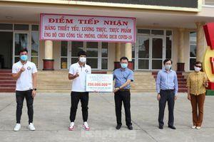 Quang Hải, Văn Hậu, Đức Chinh.... hỗ trợ Đà Nẵng 300 triệu chống COVID-19