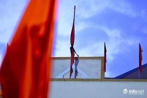 Các công sở, nơi công cộng treo cờ rủ Quốc tang trong 2 ngày 14,15/8/2020