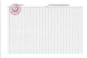 Tất cả đáp án chính thức đề thi tốt nghiệp THPT 2020 của Bộ GD&ĐT