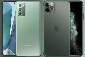 Có 23 triệu đồng, chọn mua Galaxy Note 20 hay iPhone 11 Pro?