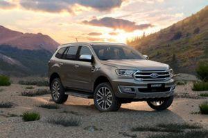 Ford Everest bất ngờ dẫn đầu doanh số phân khúc SUV hạng trung