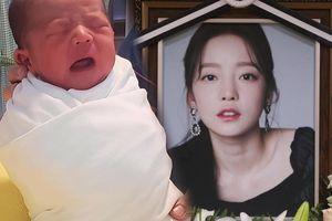 Cháu gái của Goo Hara (KARA) chào đời: Tên em bé được chọn trước khi tự tử