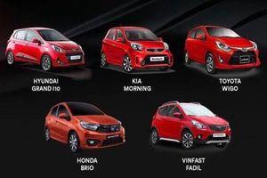Phân khúc xe hạng A tháng 7: Kia Morning 'hụt hơi', VinFast lại vượt Hyundai Grand i10