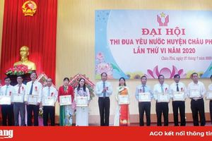Lan tỏa phong trào thi đua yêu nước tại huyện Châu Phú