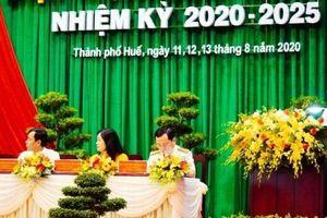 Đảng bộ thành phố Huế tổ chức Đại hội nhiệm kỳ 2020-2025