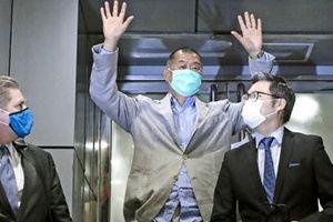 Ông trùm truyền thông Hong Kong Jimmy Lai được tại ngoại