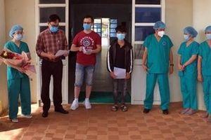 Hai bệnh nhân COVID-19 tại Quảng Ngãi được xuất viện