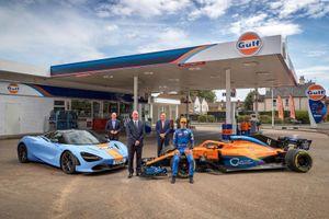McLaren và thương hiệu dầu Gulf 'bắt tay' trở lại