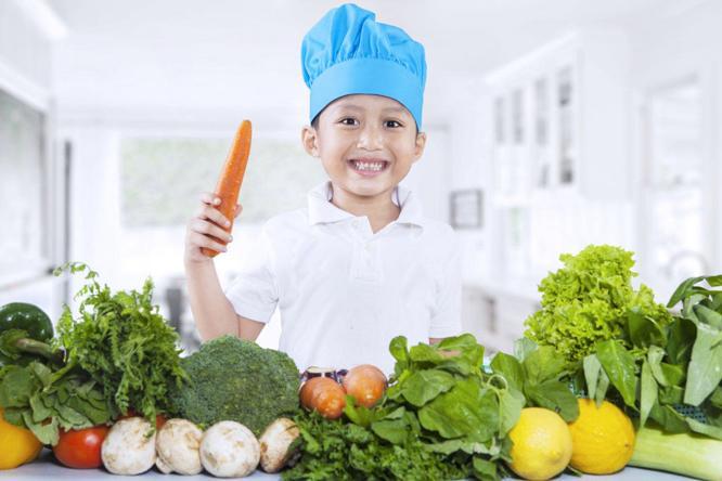 Tăng cường dinh dưỡng cho trẻ để phòng, chống dịch Covid-19