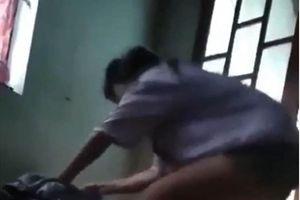 Nhóm thanh thiếu niên lột áo cô gái, quay clip đăng Facebook