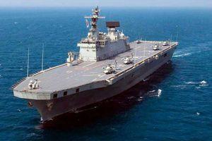 Hàn Quốc lên kế hoạch đóng tàu sân bay khi châu Á căng thẳng