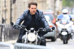 Tom Cruise đau đầu vì cháy phim trường 'Nhiệm vụ bất khả thi 7'