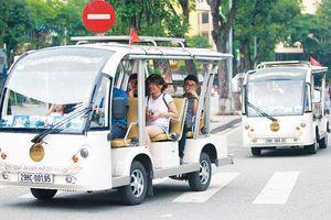 Mở rộng khu vực triển khai xe điện 4 bánh vận chuyển hành khách