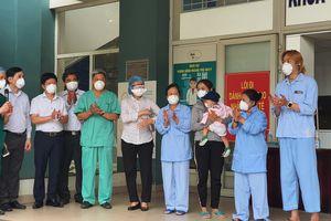 12 bệnh nhân COVID -19 được công bố khỏi bệnh