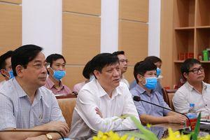Tiếp tục cử các chuyên gia hàng đầu hỗ trợ Huế và Quảng Nam