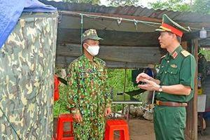 Đoàn công tác Bộ tổng Tham mưu làm việc với Bộ đội Biên phòng tỉnh Gia Lai