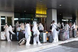 Ninh Thuận, đón 230 công dân trở về từ Malaysia