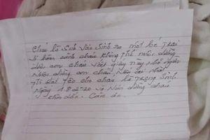 Vụ đi bẫy chuột, phát hiện bé sơ sinh bị bỏ rơi: Bức thư của nữ sinh viên bỏ con viết gì?